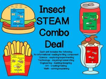 STEM and Insects-science, technology, engineering, art and math activities