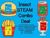 STEM and Insects-science, technology, engineering, art and