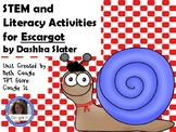 STEM and Literacy Activities for Escargot by Dashka Slater