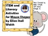 STEM and Literacy Activities for Mouse Shapes or Harcourt Journey Unit 10