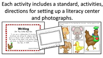 STEM and Literacy Activities for The Little Red Hen