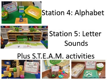 STEM and Literacy Centers for Nursery Rhymes