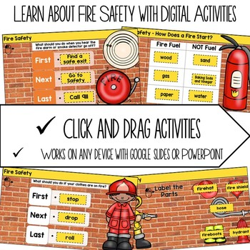 STEM and My World {Fire Safety}
