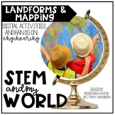 STEM and My World {Landforms and Mapping}
