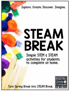 STEM and STEAM Activities:  STEAM BREAK