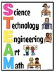 STEM and STEAM Poster Set