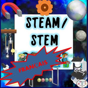 STEM and STEAM Posters FRENCH