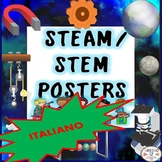 STEM and STEAM Posters ITALIAN