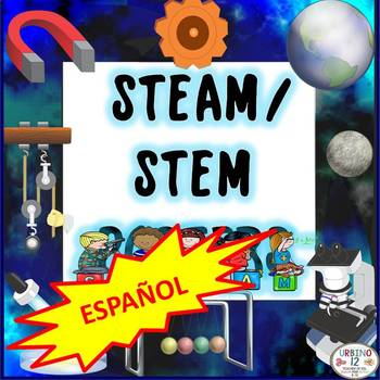 STEM and STEAM Posters SPANISH