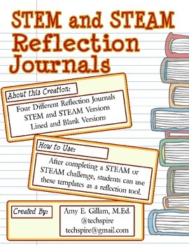 STEM and STEAM Reflection Journal