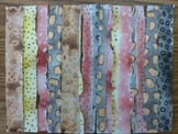 DISTANCE LEARNING STEM/STEAM Sedimentary Rock Abstract Art w VIDEO INSTRUCTIONS!