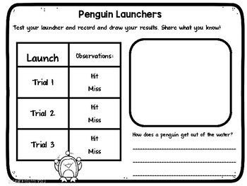 STEM and Science Penguin Pack