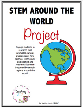 STEM around the World Project (EDITABLE)