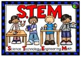 STEM bulliten board POSTER