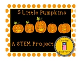 STEM challenge- 5 Little Pumpkins