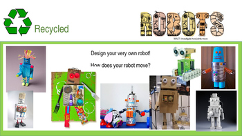 STEM challenge - recycled robots