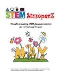 STEM daily discussion starters, journal prompts, and fillers - May