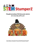 STEM daily discussion starters, journal prompts, and fillers - November