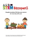STEM daily discussion starters, journal prompts, and fille