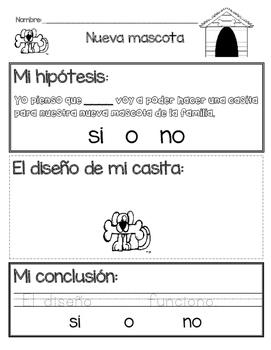STEM en español Nueva Mascota
