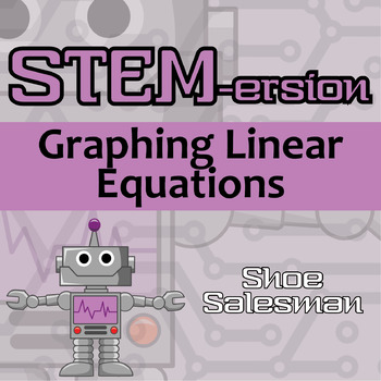 STEMersion -- Graphing Linear Equations -- Shoe Salesman