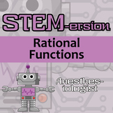 STEMersion - Rational Functions -Anesthesiologist- Distance Learning Compatible