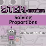 STEMersion -- Solving Percent Problems -- Screenwriter