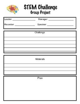 STEM group project