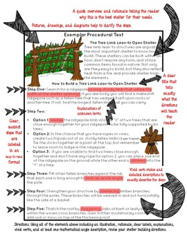 STEM Activity: Procedural Writing, Explanatory Writing