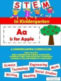 STEM in Kindergarten: Aa is for Apple