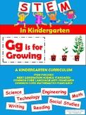 STEM in Kindergarten: Gg is for Growing