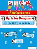 STEM in Kindergarten: Penguin Sight Words