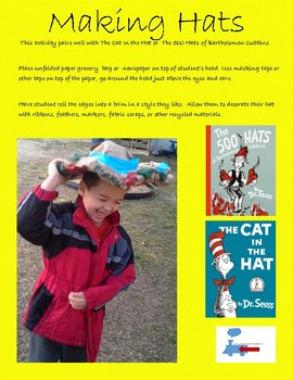 STEM inspired by SEUSS: Four Fun Lessons