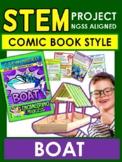STEM Comic Book Style! Boat Gr 3-4