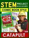 STEM Comic Book Style!  Catapult  Gr 3-4