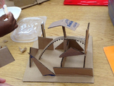 DISTANCE LEARNING STEM/STEAM Abstract Art Sculptures w/ VI