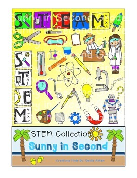 STEM or STEAM Clip Art for Personal and Commercial Use