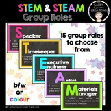 STEM or STEAM Group Roles