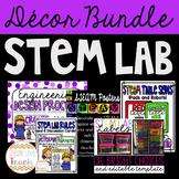 STEM, STEAM, or STREAM Lab Decor Bundle
