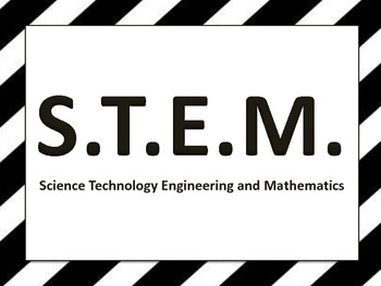 STEM or STEAM Poster Pack
