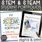 STEM or STEAM Student Portfolios Kit