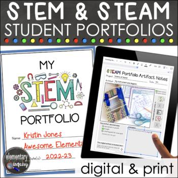 STEM or STEAM Student Portfolios Kit
