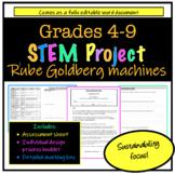 STEM project - Make your own Rube Goldberg machine