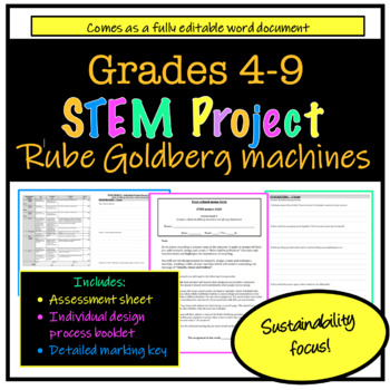 STEM project - Make your own Rube Goldberg machine