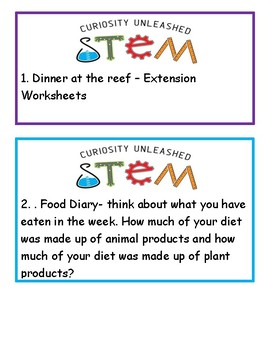 STEM questions from Living world