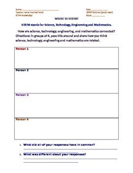 STEM round robin response tracker