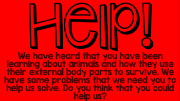 STEM solutions to human problems by mimicking animals 1-ls1-1