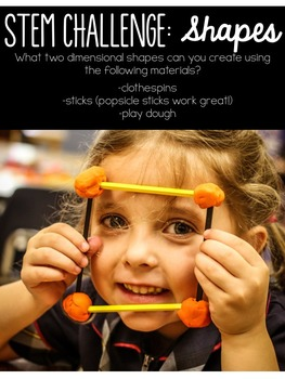 STEM throughout the year- Unit 2 Shapes