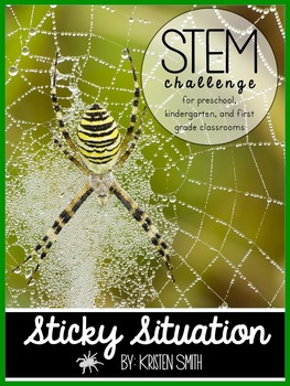 STEM throughout the year- Unit 3 Sticky Situation (Spiders)