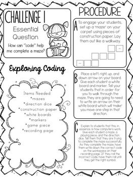 STEM throughout the year- Unit 9 Coding